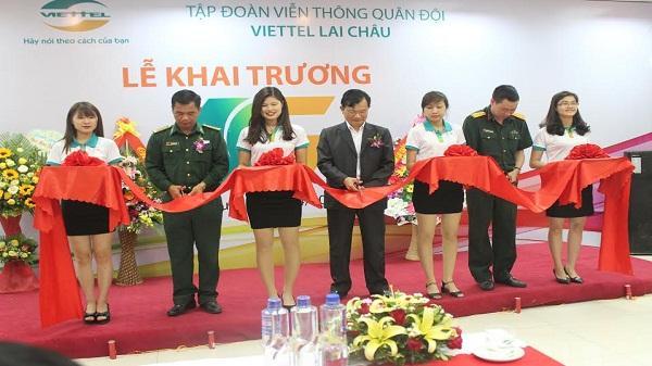 Khai trương mạng Viettel 4G tại Lai Châu