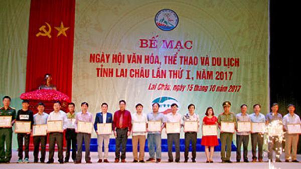 Bế mạc Ngày hội Văn hóa, Thể thao và Du lịch tỉnh Lai Châu lần thứ I năm 2017