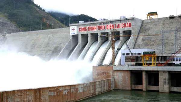 Công trình Thủy điện Lai Châu đã hoàn thành vượt tiến độ 1 năm