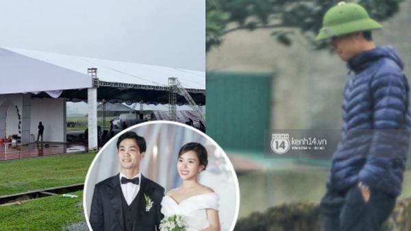 Gia đình Công Phượng dựng 3 rạp cưới, chuẩn bị 125 mâm cỗ