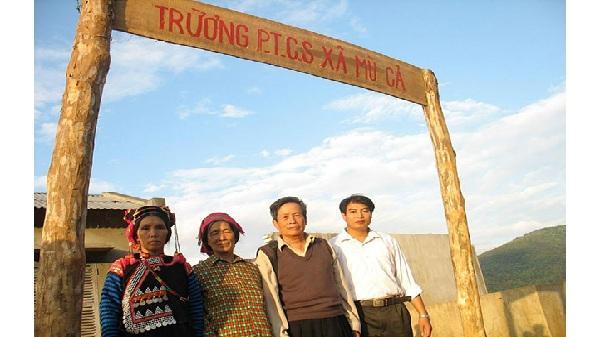 """""""Suối Thầy giáo"""", nơi núi cao Hà Nhì"""