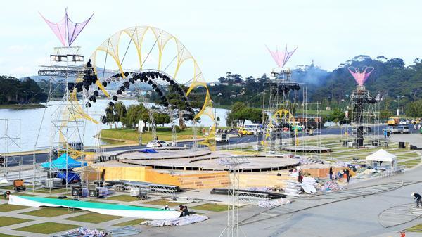 Đà Lạt gấp rút hoàn thành chỉnh trang đô thị để phục vụ Festival Hoa Đà Lạt lần thứ VII