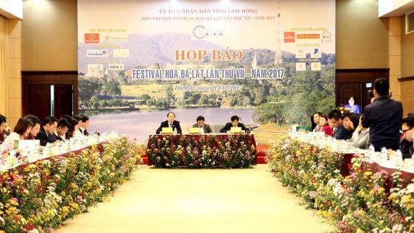 Họp báo Festival Hoa Đà Lạt lần thứ VII-Năm 2017 tại Tp. Đà Lạt
