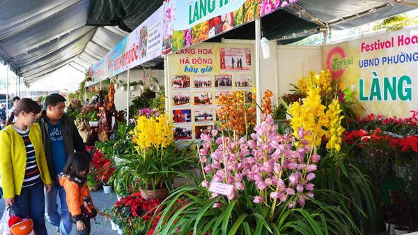Các doanh nghiệp đã sẵn sàng triển lãm hoa cho Festival Hoa Đà Lạt 2017