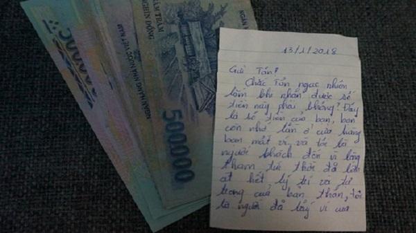 """Tên trộm """"có tâm"""" nhất năm: Lấy trộm tiền 3 năm quay lại trả đầy đủ, còn kèm theo tâm thư hối hận và chúc hạnh phúc"""