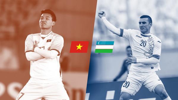 So sánh cầu thủ U23 Việt Nam và Uzbekistan: Không quá chênh lệch