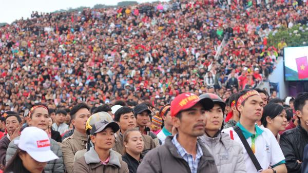 Chùm ảnh: U23 Việt Nam trong lòng người hâm mộ bóng đá Lâm Đồng