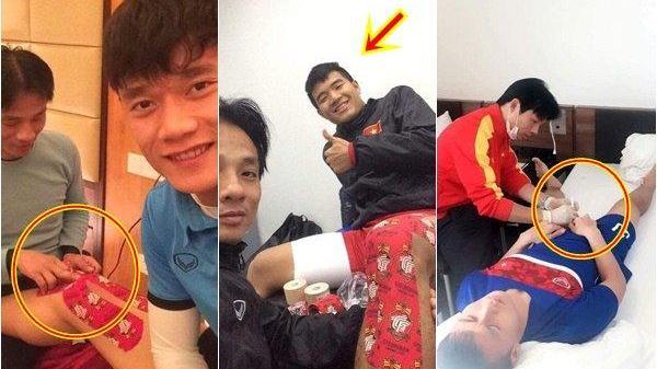 """Khoảnh khắc cực """"độc"""": Bác sĩ đội tuyển U23 lần đầu tiết lộ hình ảnh chăm sóc các 'cầu thủ vàng'"""