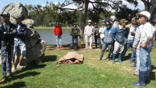 Lâm Đồng: Phát hiện thi thể người đàn ông tử vong dưới hồ Xuân Hương