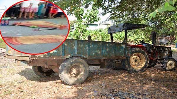 Tai nạn kinh hoàng tông vào đuôi xe công nông khiến 2 vợ chồng tử vong