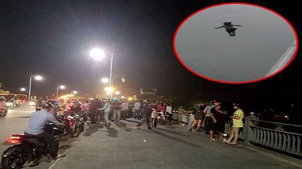 Sốc: Bỏ lại xe máy, người phụ nữ đã có chồng và 2 con gieo mình xuống sông tự tử trước sự chứng kiến của nhiều người