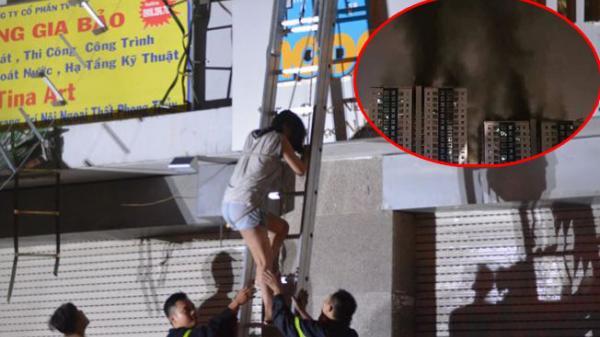 Chung cư Carina Plaza bốc cháy không lối thoát, nhiều người vào nhà chỉ có la hét, cầu cứu và chịu chết