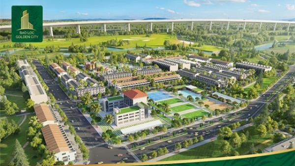 Lâm Đồng: Dự án Bảo Lộc Golden City đang thu hút đông đảo ngày cận ngày mở bán