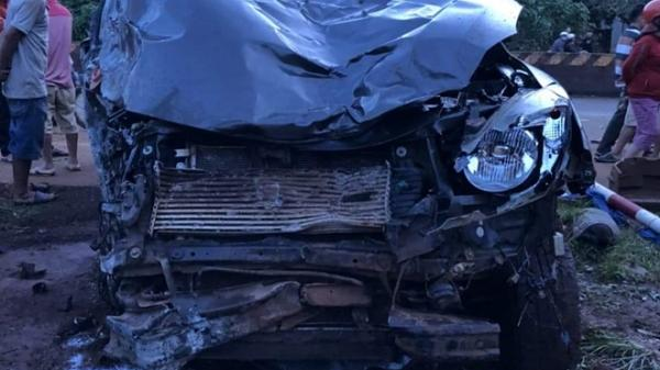 Tây Nguyên: Ô tô bán tải lao như điên gây tai nạn liên hoàn, 3 người thương vong