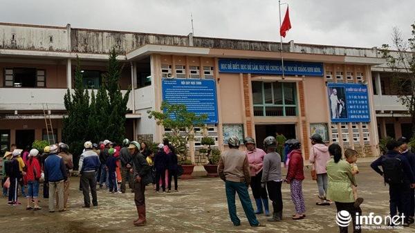 Lâm Đồng: Sau sự cố sập sàn, tạm dừng sử dụng nhiều phòng học