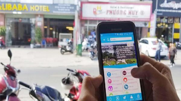 Ứng dụng phần mềm Dalat City, hỗ trợ du khách đến thành phố ngàn hoa
