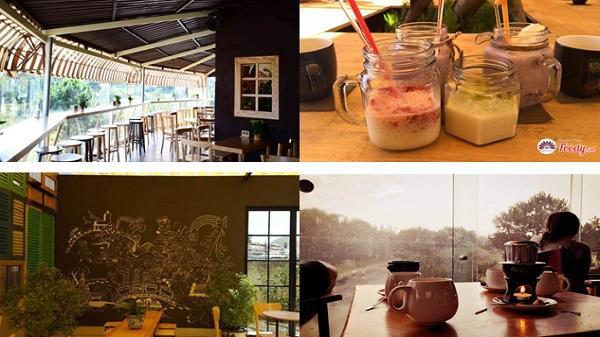 """Điểm danh những quán cafe """"hót hòn họt"""" được giới trẻ ráo riết săn lùng tại Đà Lạt - Lâm Đồng"""