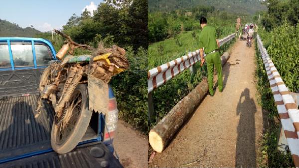 Lâm Đồng: Lâm tặc đốt xe phi tang khi gặp lực lượng Hạt kiểm lâm