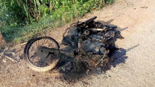 Lâm Đồng: Xác định 3 đối tượng trong vụ lâm tặc đốt xe phi tang khi gặp kiểm lâm