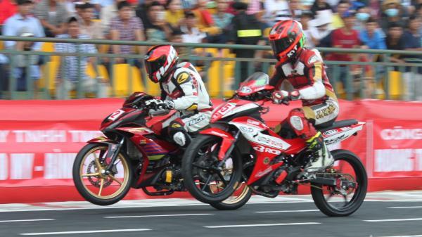Cần Thơ: Mãn nhãn với những màn rượt đuổi tốc độ ở giải đua mô tô toàn quốc