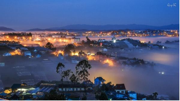 Đà Lạt là 1 trong 10 thành phố tuyệt đẹp về đêm ở Việt Nam