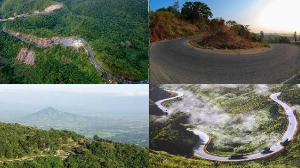 """""""Lạc trôi bồng bềnh"""" trên những con đường đèo nối liền giữa phố núi và phố biển chỉ có ở Việt Nam"""