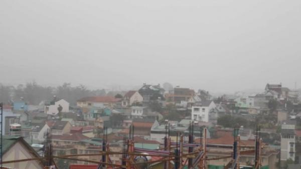Lâm Đồng: Toàn bộ học sinh được nghỉ học tránh bão
