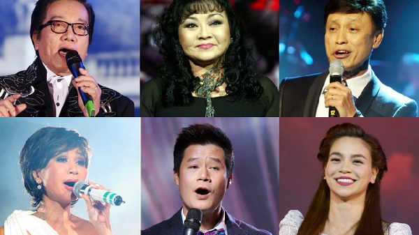 Dàn nghệ sĩ quy tụ trong Duyên Dáng Việt Nam lần thứ 29 tổ chức tại TP Đà Lạt
