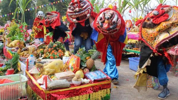 Lễ hội lồng thồng tại Lạng Sơn