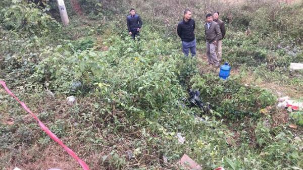 Lạng Sơn:  Người đàn ông lao xe máy xuống mương tử vong