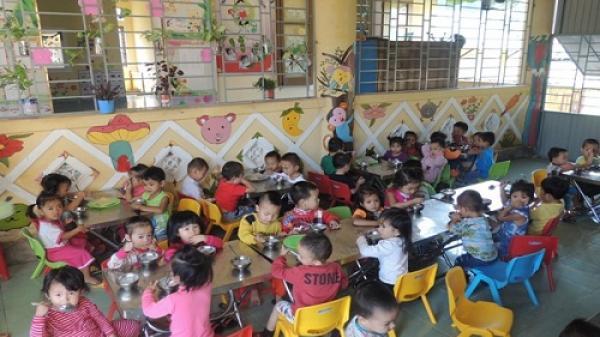 Trẻ em mẫu giáo được Nhà nước hỗ trợ tiền ăn trưa