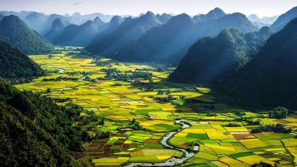 Thung lũng Bắc Sơn lộng lẫy trên trang tin nước ngoài
