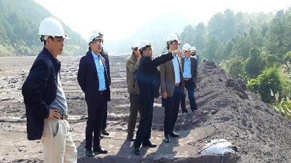 Lạng Sơn: Kiểm tra tình hình quản lý, xử lý tro, xỉ của Nhà máy Nhiệt điện Na Dương
