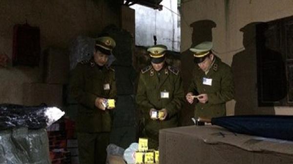 Lạng Sơn: Bắt giữ hàng nghìn sản phẩm mỹ phẩm nhập lậu