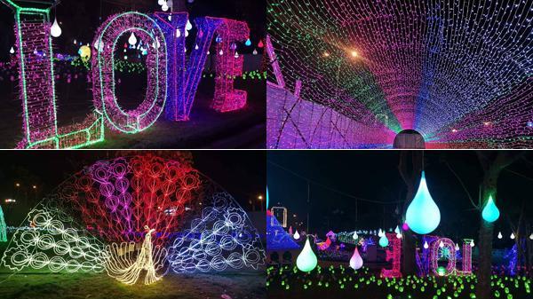 Lạng Sơn: Bất ngờ hé lộ những hình ảnh đầu tiên siêu lung linh trong không gian 50.000m2 đèn tại lễ hội ánh sáng lần đầu được tổ chức
