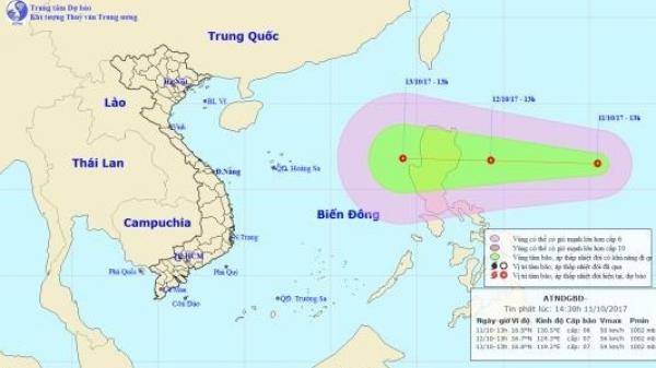 Mưa lũ chưa qua, biển Đông lại sắp đón thêm áp thấp nhiệt đới
