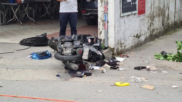Điều tra vụ ô tô truy đuổi rồi đâm trực diện xe máy làm 2 người thiệt mạng
