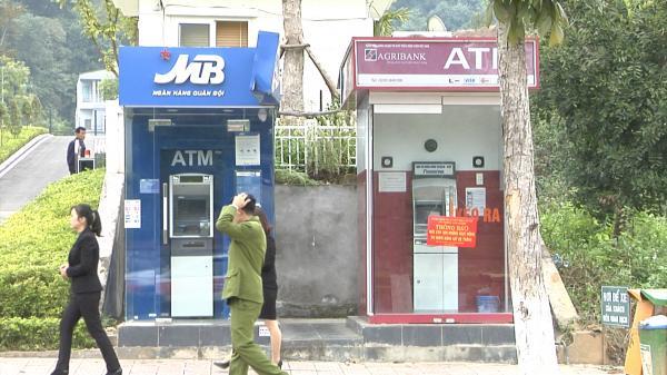 Cây ATM của ngân hàng Agribank Lào Cai bị kẻ gian phá khóa