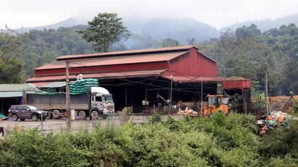 Lại xảy ra ô nhiễm môi trường do chế biến cà phê ở Mường Ảng, Điện Biên