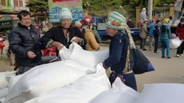 Xuất cấp gạo từ nguồn dự trữ quốc gia cho tỉnh Sơn La