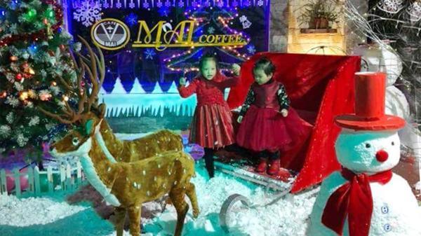 Không khí đón Giáng sinh ngập tràn thành phố Lào Cai