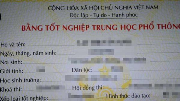 Lào Cai: Buộc thôi việc một giáo viên dùng bằng tốt nghiệp THPT
