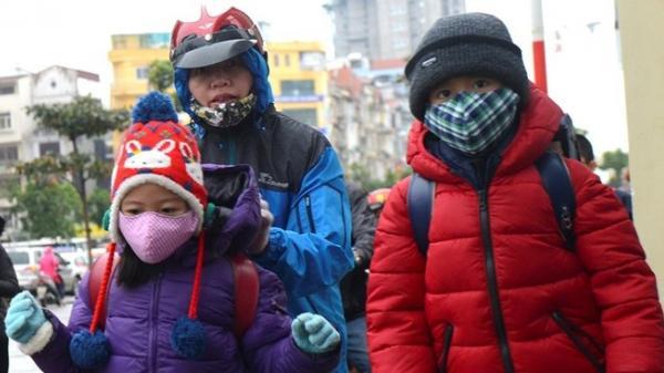 Hôm nay, nhiệt độ xuống dưới 10 độ C, học sinh có được phép nghỉ học?