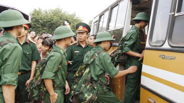 Lào Cai sẽ tuyển chọn và gọi 650 công dân nhập ngũ năm 2018