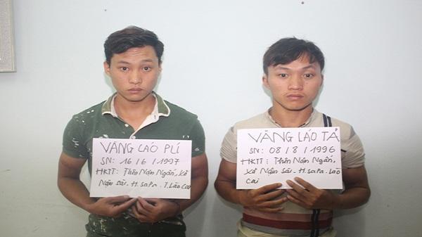 Công an Sa Pa bắt giữ 2 đối tượng trộm cắp tài sản