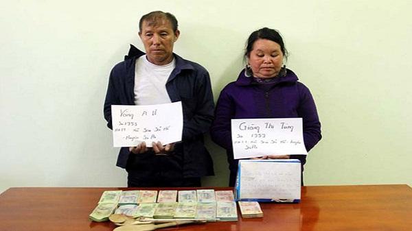 Sa Pa: Bắt quả tang hai vợ chồng tàng trữ trái phép ma túy