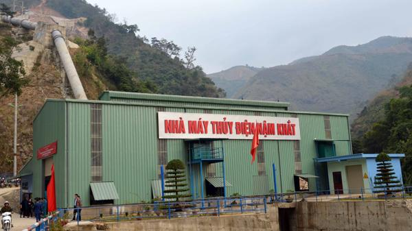 Lào Cai: Khánh thành nhà máy thủy điện Nậm Khắt