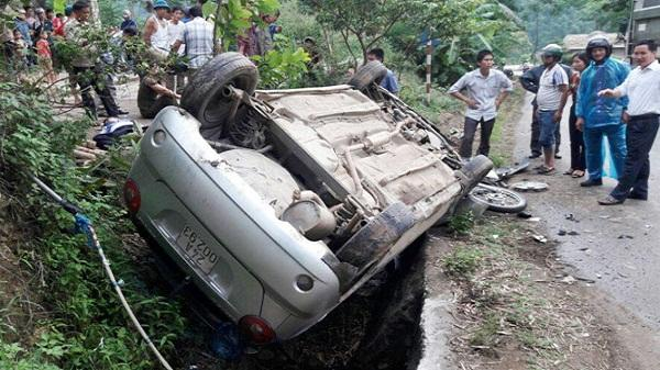 Văn Bàn: Tai nạn giao thông làm 4 người thương vong