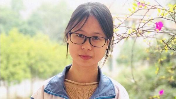 Nữ sinh Lào Cai đoạt giải Nhất quốc gia môn Ngữ văn