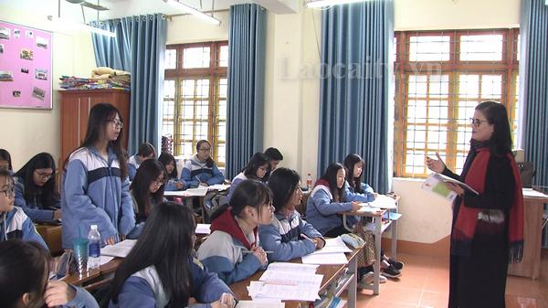 Lào Cai đạt 39 giải tại kỳ thi Học sinh giỏi Quốc gia năm 2018